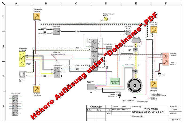 Schaltplan Vape - Wiring Diagram